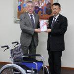 2016車椅子贈呈式